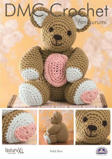 DMC Crochet Pattern 'TEDDY BEAR'